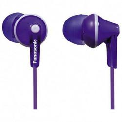 Panasonic Headphones RP-HJE125E in-ear Violet