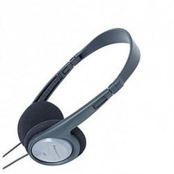 Panasonic Auriculares RP-HT090E Preto Cinzento Diadema