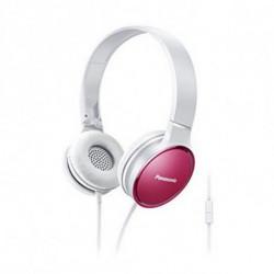 Panasonic Auriculares com microfone RP-HF300ME Cor de rosa Diadema