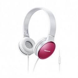 Panasonic Headphones with Microphone RP-HF300ME Pink Headband