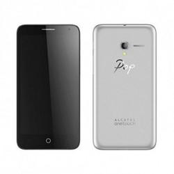 Alcatel Handy Pop 3 5.5 4G 8 GB Quad Core Silberfarben