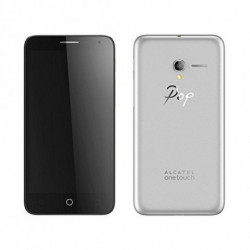 Alcatel Telefono Cellulare Pop 3 5.5 4G 8 GB Quad Core Argentato