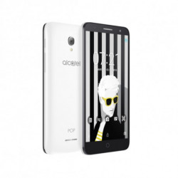 Alcatel Téléphone portable Pop 4 PLUS 5.5 4G 16 GB Quad Core Blanc