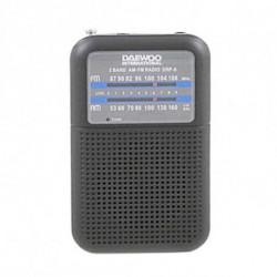 Daewoo Rádio Portátil DRP-8B Preto