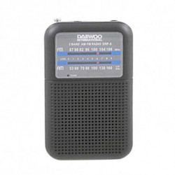 Daewoo Radio transistor DRP-8B Noir