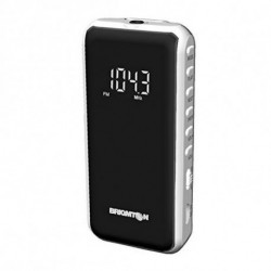 Brigmton BT-124-B radio Personal Digital Black,White