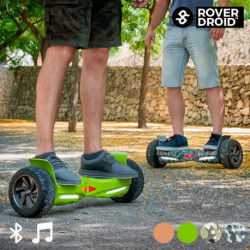 Skate Hoverboard Elettrico Bluetooth con Altoparlanti Rover Droid Stor 190 Camouflage