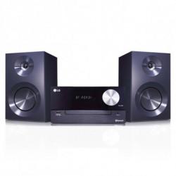LG CM2460 ensemble audio pour la maison Système micro audio domestique Noir 100 W