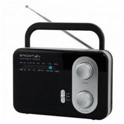 BRIGMTON Tragbares Radio BT 250 Schwarz