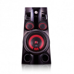 LG OM5560 aparelhagem de som Mini sistema de áudio Preto 500 W