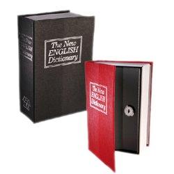 Caixa de Segurança em Forma de Dicionário Vermelho