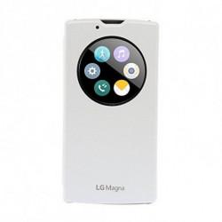 LG CCF-605 coque de protection pour téléphones portables 12,7 cm (5) Folio porte carte Blanc