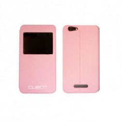 Cubot Protection pour téléphone portable CUB-FLRS-NOTES Rose
