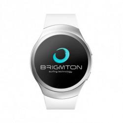 BRIGMTON Montre intelligente BWATCH-BT5 1.2 54 g Blanc