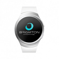 BRIGMTON Smartwatch BWATCH-BT5 1.2 54 g Blanco