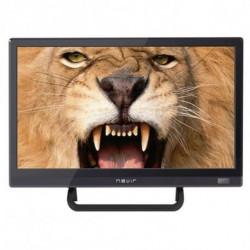 NEVIR Televisión LED HD USB DVR HDMI Negro