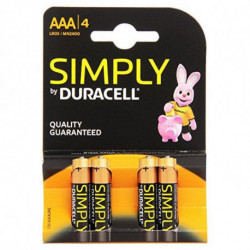 Duracell 002432 pile domestique Single-use battery AAA Alcaline