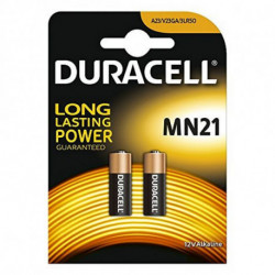 DURACELL Piles Alcalines Security DRB212 MN21 12V 1.5W (2 pcs)