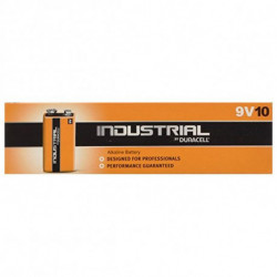 Duracell Alkaline, Industrial, 9 V Single-use battery 9V