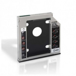NANOCABLE Metalladapter für 2 Festplatten (2,5/8,89 cm) 10.99.0102