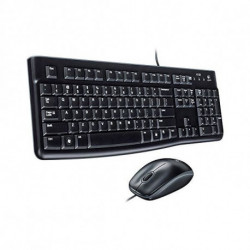 Logitech Desktop MK120 keyboard USB QWERTY US International Black