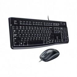 Logitech Desktop MK120 teclado USB QWERTY Internacional de EE.UU. Negro