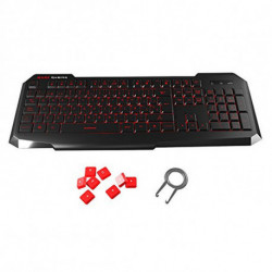 Mars Gaming MK116 keyboard USB Black