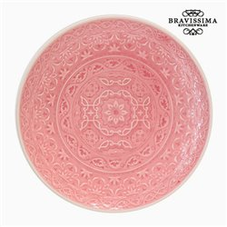 Assiette Porcelaine Corail by Bravissima Kitchen
