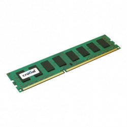 Crucial RAM Memory Single Rank CT51264BD160BJ 4 GB 1600 MHz DDR3L-PC3-12800