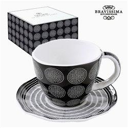 Tazza per Infusi Porțelan Neagră by Bravissima Kitchen