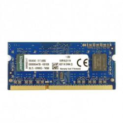 Kingston Technology ValueRAM 4GB DDR3L 1600MHz memoria