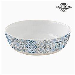 Assiette creuse Porcelaine Bleu by Bravissima Kitchen
