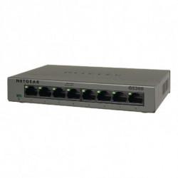 Netgear GS308 No administrado Gigabit Ethernet (10/100/1000) Gris GS308-100PES