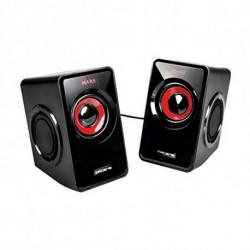 Mars Gaming MS1 Lautsprecher 10 W Schwarz, Rot