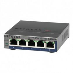 Netgear GS105E-200PES comutador de rede Gerido L2/L3 Gigabit Ethernet (10/100/1000) Cinzento