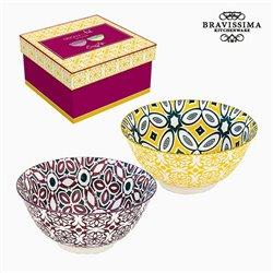 Ensemble de bols Porcelaine (2 pcs) by Bravissima Kitchen