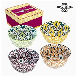Ensemble de bols Porcelaine (4 pcs) by Bravissima Kitchen
