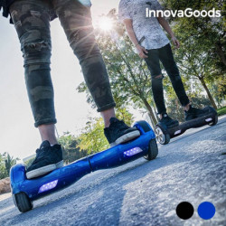 InnovaGoods Trottinette Électrique Hoverboard Noir