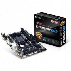 Gigabyte GA-F2A68HM-DS2 placa mãe Socket FM2+ Micro ATX AMD A68H