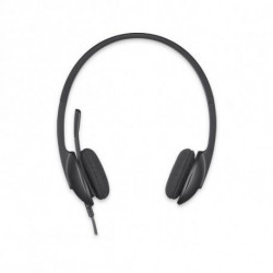 Logitech H340 Stereofonico Padiglione auricolare Nero