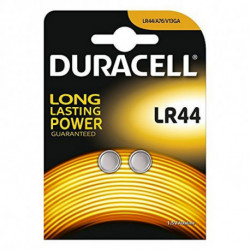 DURACELL Pilas de Botón Alcalinas DRBLR442 LR44 1.5V (2 pcs)