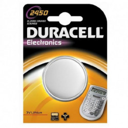 DURACELL Lithium Button Cell Battery DRB2450 CR2450 3V