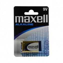 Maxell Pila Alcalina MXBLR6LR61 LR61 9V