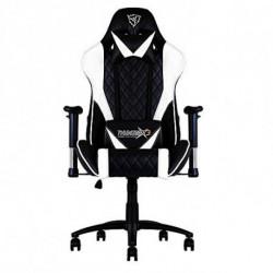 ThunderX3 TGC15BW Videospiel-Stuhl PC-Spielstuhl Gepolsterter Sitz