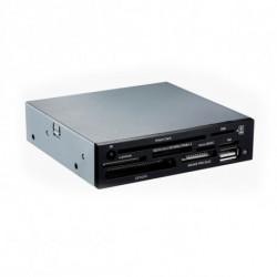 TooQ LECTOR DE TARJETAS 3,5 8 SLOTS (DNIe+SIM) 1 X USB NEGRO