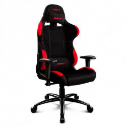 DRIFT Gaming Chair DR100BR 90-160º Cloth Foam Black Red