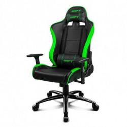 DRIFT Cadeira de Gaming DR200BG 90-160º Espuma PU Preto Verde