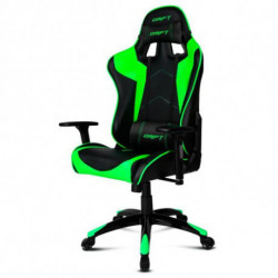 DRIFT Gaming-Stuhl DR300BG 90-160º Schaum Schwarz grün