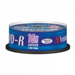 Verbatim 43667 4,7 GB DVD-R 25 pieza(s)