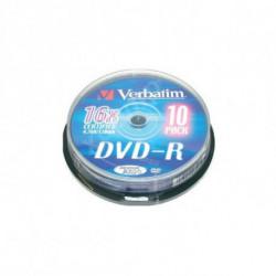 Verbatim DVD-R Matt Silver 4,7 GB 10 peça(s)